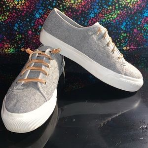 *RARE* SPERRY TOP-SIDER CREST VIBE WOOL LIFT 9W